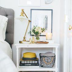 Lovely & Organized Nightstand