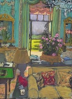 ◇ Artful Interiors ◇ paintings of beautiful rooms - Penny Graham