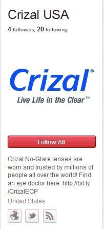 Crizal No-Glare Lenses