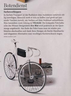 EVA BLUT Bicycle Bag // Rondo Magazine Bicycle Bag, Magazine, Bags, Bicycling, First Aid, Handbags, Bike Frame Bag, Magazines, Bag