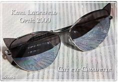 cb5edad1b4805 lunettes de soleil cat eye de Karl Lagerfeld pour Optic 2000