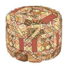 """Title : 4a, Tribal, Ethnic, Patchwork Print Pouf  Description : Fashions, """"Trendy-Designs"""", """"Stylish-Décor"""", Fabrics, Patterns, Bohomian, Moroccan, India, Decorations, Contemporary, Modern, Ethnic, Boho, Tribal, Kilim, Tapestries, Unique, Abstract, Flowers, Floral, Gypsy, Paisley, Art, Chic, Hippie, """"Eastern-Europe"""", """"Quilting-Fabrics"""", """"Home-Décor"""", """"Home-Accents"""", Colorful, Geometric, Cute, Whimsical, Batik, Retro, Vintage, """"Native-American"""", """"Tribal-Prints, Kaleidoscope, Vibrant…"""
