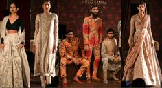 Well-known designer Sabyasachi Mukherjee opened ICW 14, with his show 'Ferozabad', an old city of Mughal Emperor Akbar's time. His exquisite ensemble with intricate zardosi embroidery was presented on a set which looked like an oriental train. http://fashiontrendsandtipsblog.wordpress.com/2014/07/24/india-couture-week-2014/