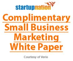 Complimentary Small Business Marketing White Paper