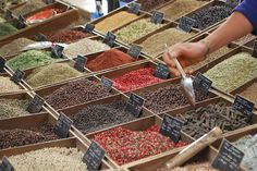 spices and pepper, P