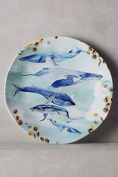 Under The Sea Dinner Plate - anthropologie.eu