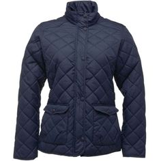 Regatta Womens Tarah Jacket- Diamond quilted #jacket with water repellent finish and thermo-guard protective warmth. Perfect for unpredictable #autumn days! #womensfashion #womensstyle #style #fashion #autumnstyle