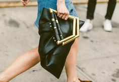 bag handle metal and stud
