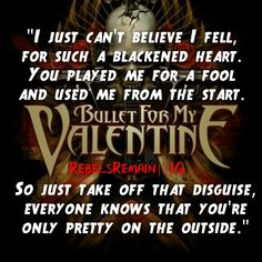 bullet for my valentine riot lyrics