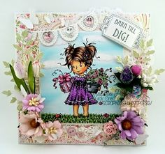 Scrapkonst: Quick Creations DT Whimsy stamps Wee stamps Wee Suzi