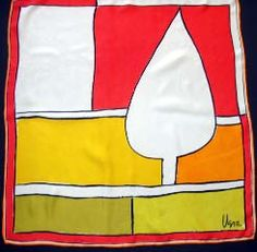 Milwaukee couple has nice collection of vintage Vera Nuemann scarves.