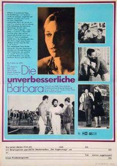 """""""Die unverbesseliche Barbara"""" (1977) Directed by Lothar Warneke East Germany"""