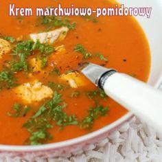 Krem marchwiowo-pomidorowy