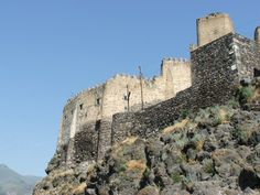 Khertvisi Fortress Walls