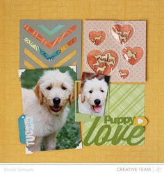 Puppy Love *NEW Here & There* by NicoleS at Studio Calico