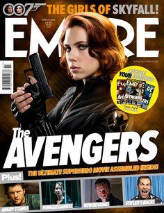 Marvel's The Avengers - Empire Magazine Cover (March 2012)   #BlackWidow   #ScarlettJohansson   #Marvel