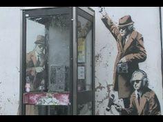 #LeonardoDaVinci s birthday (April 15 1452) which appropriately is also #WorldArtDay #Banksy