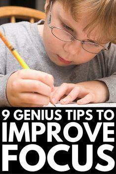 How to Help a Child Focus   Looking for tips to improve focus in children with a short attention span? We've got 9 strategies for parents and teachers that work both at home and in the classroom. Whether your child has a learning disability like ADD or ADHD, or is just a high energy kid who finds it difficult to sit still, these tips will help you increase concentration naturally! #ADD #ADHD #parenting #parenting101 #parentingtips