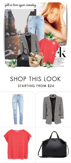 """You're getting further, further away"" by ninotchka-nb ❤ liked on Polyvore featuring Paige Denim, Wallis, MANGO, Mulberry and Michael Kors"