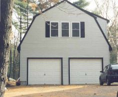 Gambrel Roof garage with upstairs studio24x30 2 car garage with gambrel  barn style  roof  Built by  . Gambrel Garage With Apartment Floor Plans. Home Design Ideas