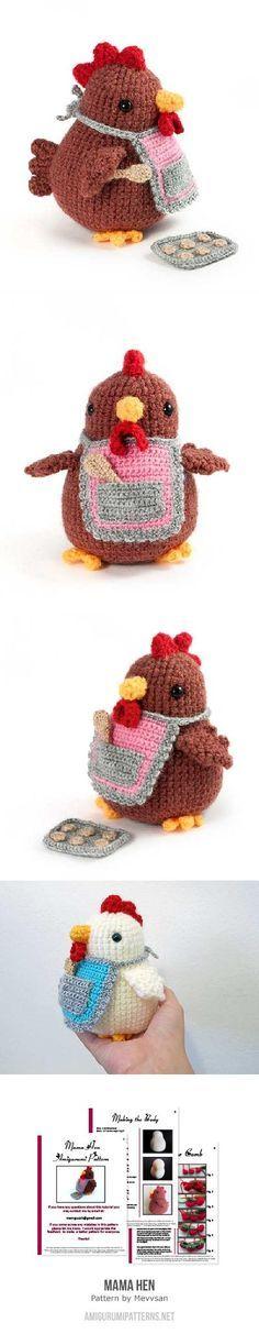Amigurumi Ladybug Pattern Free : Crochet chicken free amigurumi pattern **Amigurumi Queen ...