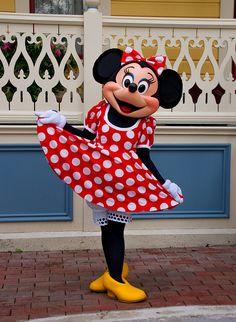 Minnie Mouse @ Disneyland Paris