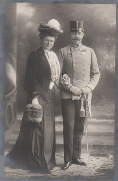 Archduke Franz Ferdinand and Countess Sophie.