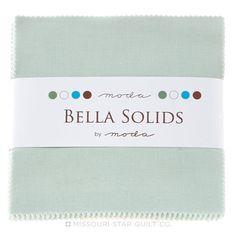 Bella Solids Home Town Sky Charm Pack by Moda - Moda Fabrics - Moda Fabrics