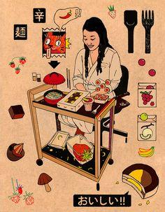 toma vagner illustration portraits designboom