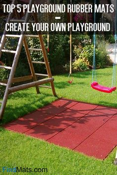 19 Best Outdoor Playground Mats For