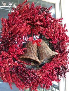 Berry and Bells Wreath....