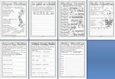 Free Literacy Resource - Simile Worksheet Printables