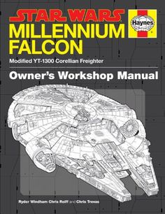 Star Wars Millennium Falcon: Modified YT-1300 Corellian Freighter, Owner's Workshop Manual: Ryder Windham, Chris Reiff, Chris Trevas: Amazon.com.mx: Libros