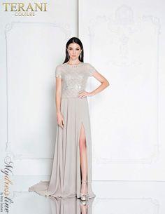 4ccc7c3da504 Terani Couture 1813M6702 Evening Dress LOWEST PRICE GUARANTEED NEW  Authentic #dresses #evening #eveningdresses