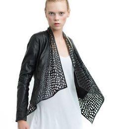 laser cut leather jacket - Google-haku