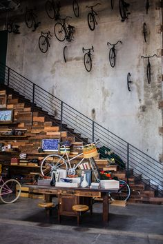 The Wheelhouse is a full service bicycle shop and barista-led coffee shop in Los Angeles' Arts district that aims to bring people together.