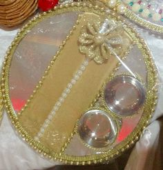 Hand made puja thali