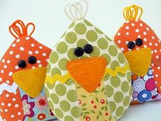 rice filled chick-cicles!  Store in freezer and use as ice packs on little booboos.