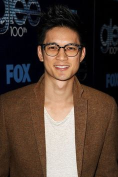 Harry Shum Jr. just picked up a first edition of Baudelaire's poems for you. | 23 Pictures That Prove Glasses Make Guys Look Obscenely Hot