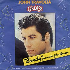 "For Sale - John Travolta Sandy UK  7"" vinyl single (7 inch record) - See this and 250,000 other rare & vintage vinyl records, singles, LPs & CDs at http://eil.com"