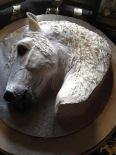 dapple horses head Cake Art Pinterest Horse head Cake art and