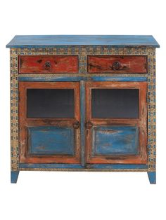 Wooden Almirah from Mobile First Look: Industrial-Rustic Furniture by Uma on Gilt