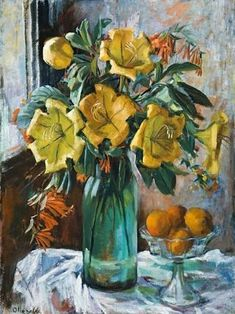 Find artworks by Margaret Olley (Australian, 1923 - on MutualArt and find more works from galleries, museums and auction houses worldwide. Australian Painters, Australian Artists, Still Life Artists, Still Life Flowers, Fruit Painting, Art And Illustration, Art Floral, Painting Inspiration, Flower Art