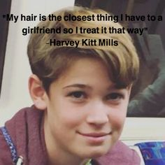 Many more like this can be found at the website! Give it a look for what we pick best for each category!Oh gosh I& laughing so hard right now Max And Harvey, Max Mills, Harvey Mills, Edgy Hair, Hair Quotes, Magcon Boys, Funny Pictures, Funny Pics, Powerful Words