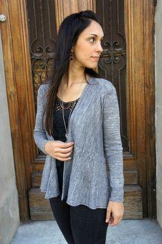 9cecd2a8760525 Meridien. Knit Cardigan PatternSweater Knitting PatternsCrochet ...
