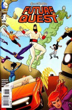 DC Comics Hanna Barbera FUTURE QUEST #1