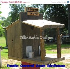 30% OFF TODAY Rustic General Store by TallahatchieDesigns on Etsy