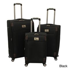 A lightweight design, expandable construction and 360-degree spinner wheels make the Milan luggage ideal for your next adventure. Crafted with durable polyester, these fully-line suitcases are finishe