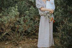 Linen dress by Nobonu