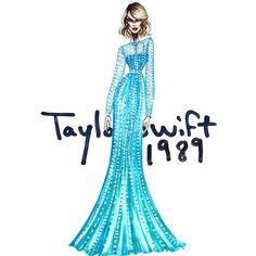 The Taylor Swift Eras - 1989 #TaylorSwift #FashionIllustration #1989
